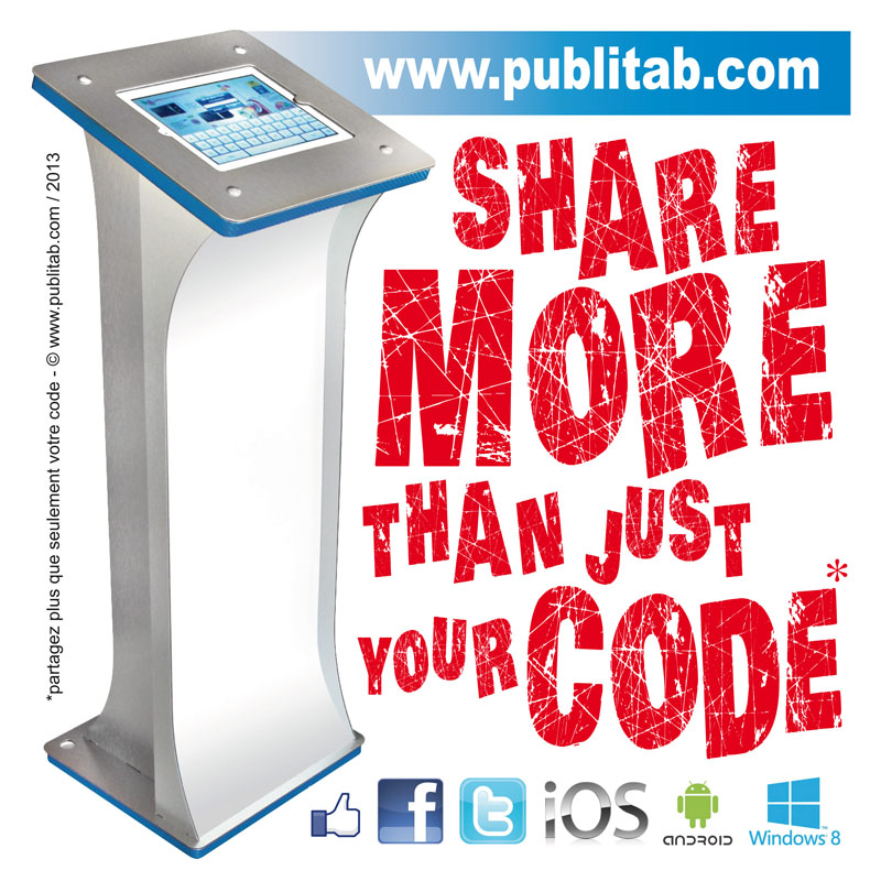 Share more than just your code !